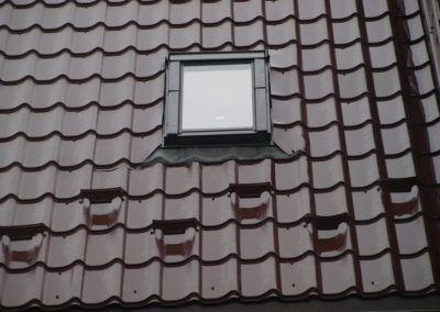 Okno dachowe FAKRO, śniegołapy