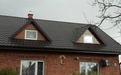 Remont dachu budynku mieszkalnego