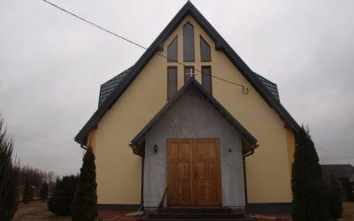 Remont kościoła w Tuchli